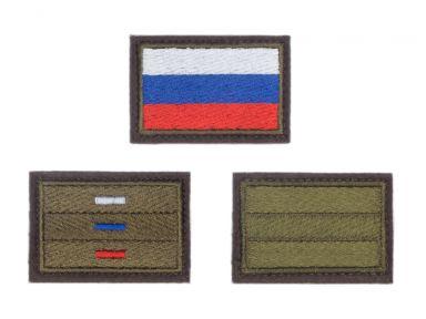 """Шевроны """"флаг РФ"""""""