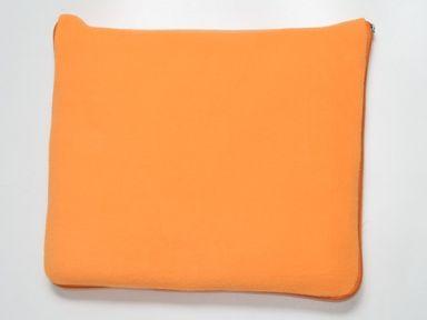 Флисовый плед-подушка